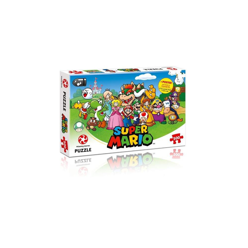 PUZZLE NINTENDO SUPER MARIO 500 PCS NEW