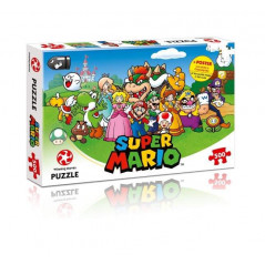 PUZZLE NINTENDO SUPER MARIO 500 PCS NEW