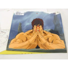 ANIME CEL HOKUTO NO KEN EP. 152 (A7 + SKETCH + TIME SHEET - ORIGINAL UNMATCHING BACK) JPN