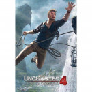 POSTER UNCHARTED 4 JUMP NEW
