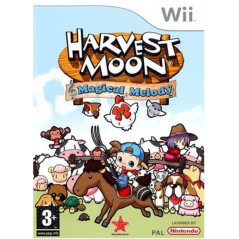 HARVEST MOON MAGICAL MELODY WII FR OCCASION