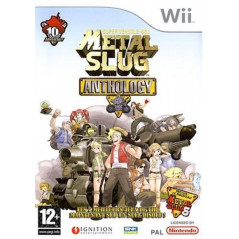 METAL SLUG ANTHOLOGY WII PAL-FR OCCASION