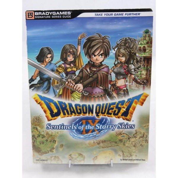 GUIDE DRAGON QUEST 9 NDS USA OCCASION