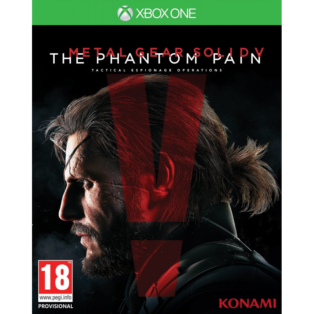 METAL GEAR SOLID V THE PHANTOM PAIN XBOX ONE FR OCCASION