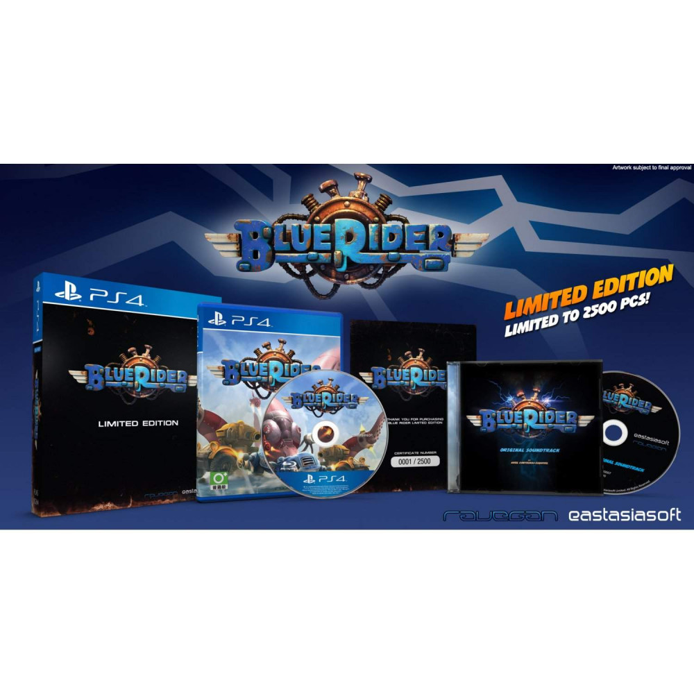 BLUE RIDER LIMITED EDITION PS4 ASIAN NEW