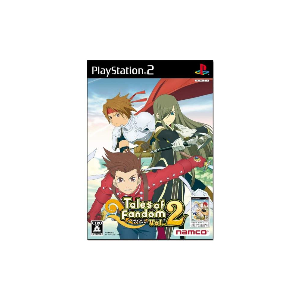 TALES OF FANDOM VOL.2 TIA VERSION PS2 NTSC-JPN OCCASION
