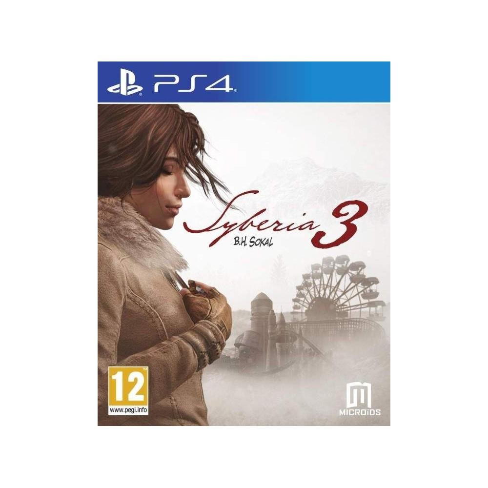 SYBERIA 3 PS4 EURO FR NEW