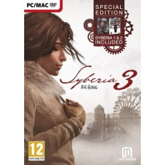 SYBERIA 3 COMPLETE EDITION + 1 + 2 PC EURO FR NEW