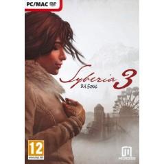 SYBERIA 3 PC EURO FR NEW