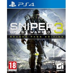 SNIPER GHOST WARRIOR 3 SEASON PASS EDITION PS4 FR NEW