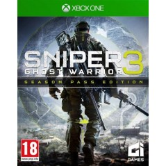 SNIPER GHOST WARRIOR 3 SEASON PASS EDITION XONE FR NEW