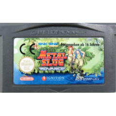 METAL SLUG ADVANCE GBA UKV LOOSE