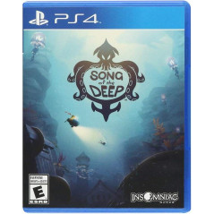 SONG OF THE DEEP PS4 US NEW