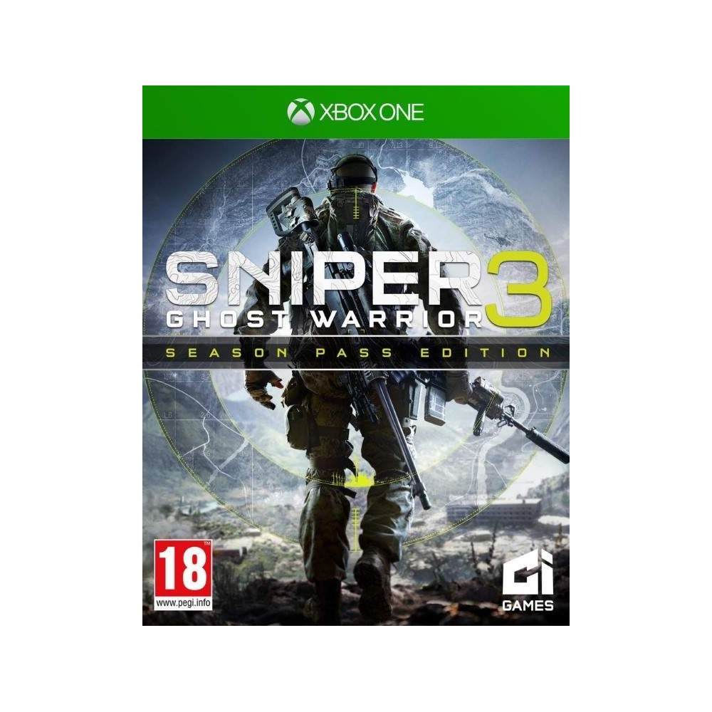 SNIPER GHOST WARRIOR 3 SEASON PASS EDITION XONE EURO FR NEW