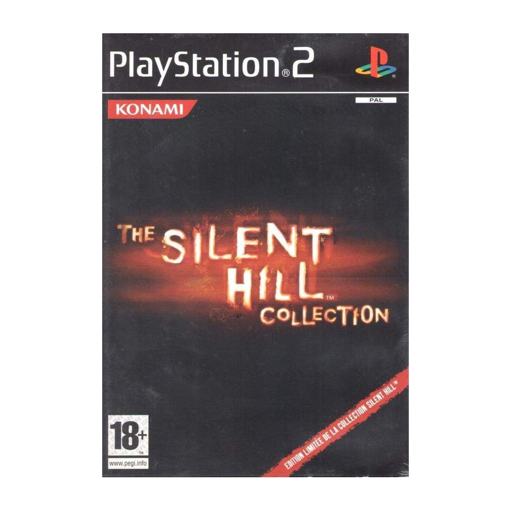 THE SILENT HILL COLLECTION PS2 PAL-FR OCCASION