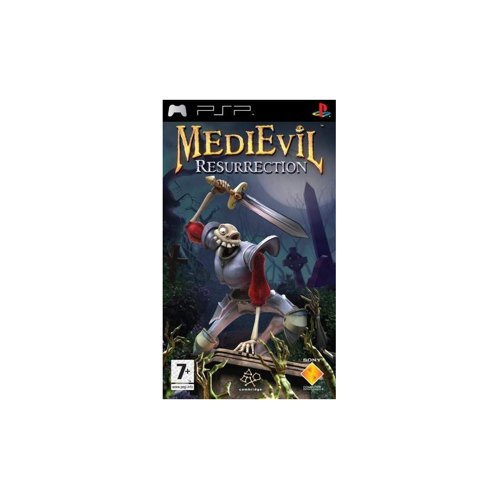 MEDIEVIL RESURRECTION PSP FR OCCASION