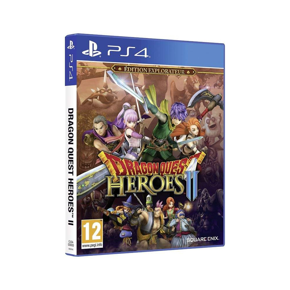 DRAGON QUEST HEROES 2 EXPLOREUR EDITION PS4 EURO FR NEW