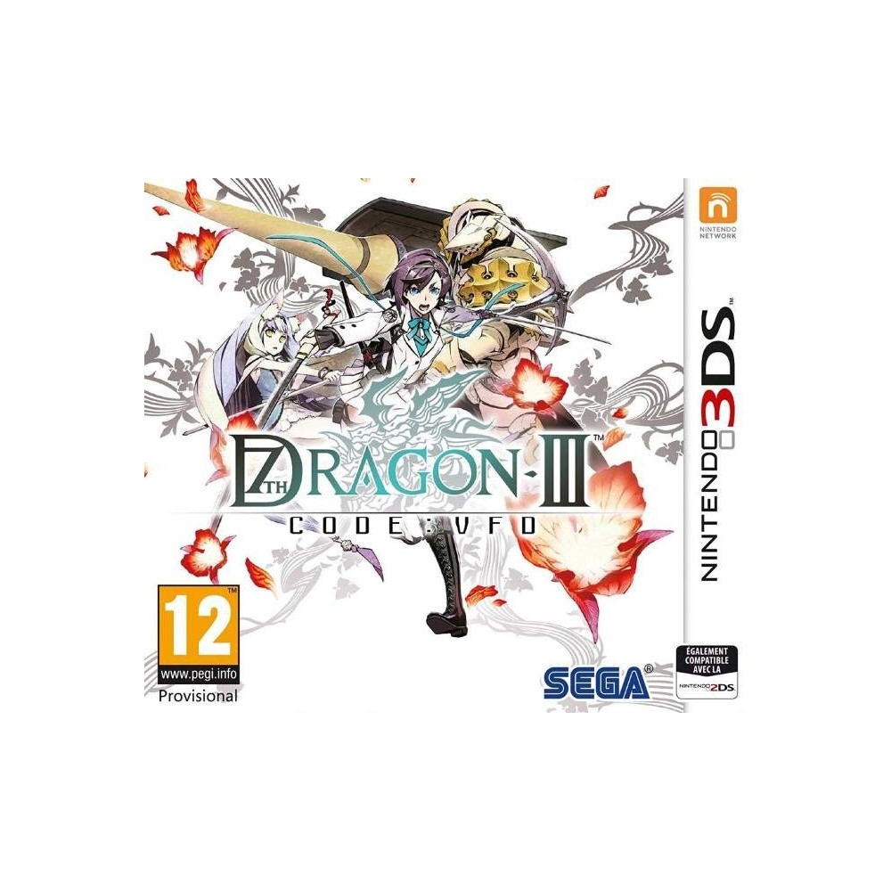 7TH DRAGON III - CODE : VFD 3DS PAL-FR OCCASION