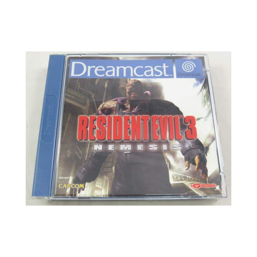 RESIDENT EVIL 3 DREAMCAST PAL-EURO OCCASION