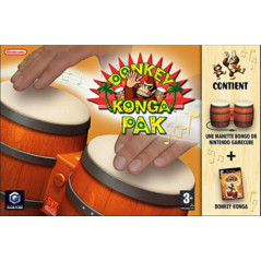 DONKEY KONGA PAK GAMECUBE PAL-EURO OCCASION
