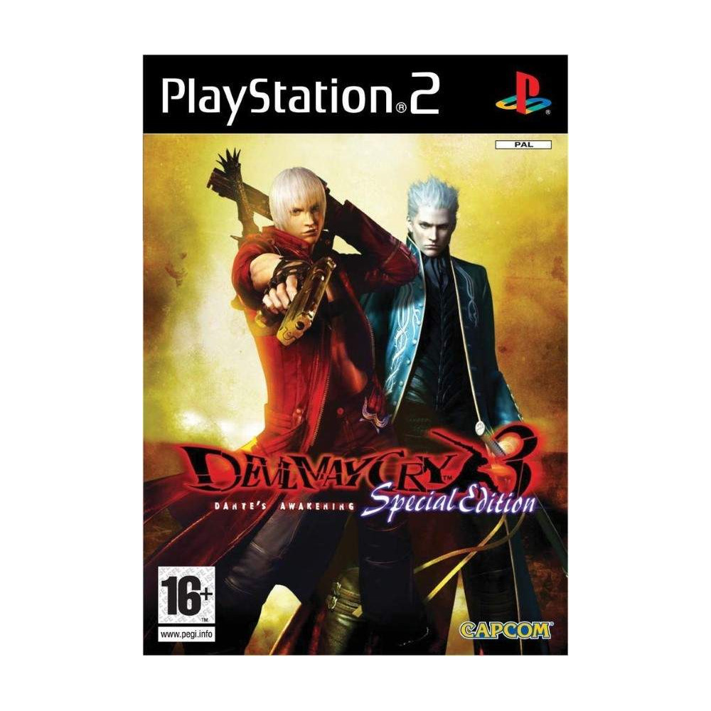 DEVIL MAY CRY 3 SPECIAL EDITION PS2 PAL EURO OCCASION