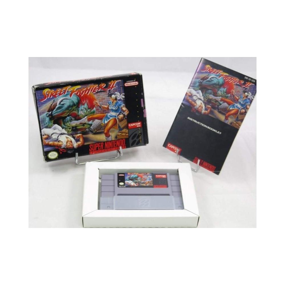 STREET FIGHTER II SNES NTSC-USA OCCASION