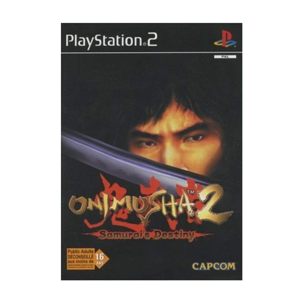ONIMUSHA 2 PS2 PAL FR OCCASION