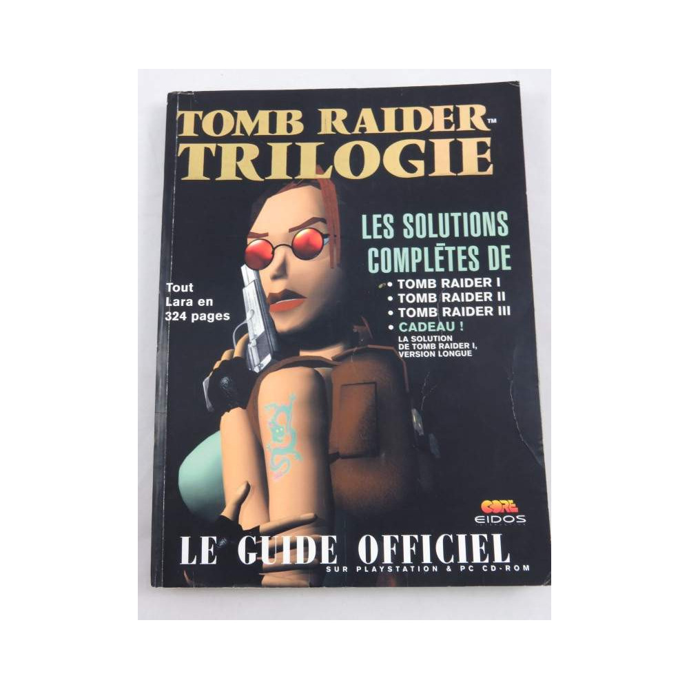 GUIDE TOMB RAIDER TRILOGY FR OCCASION
