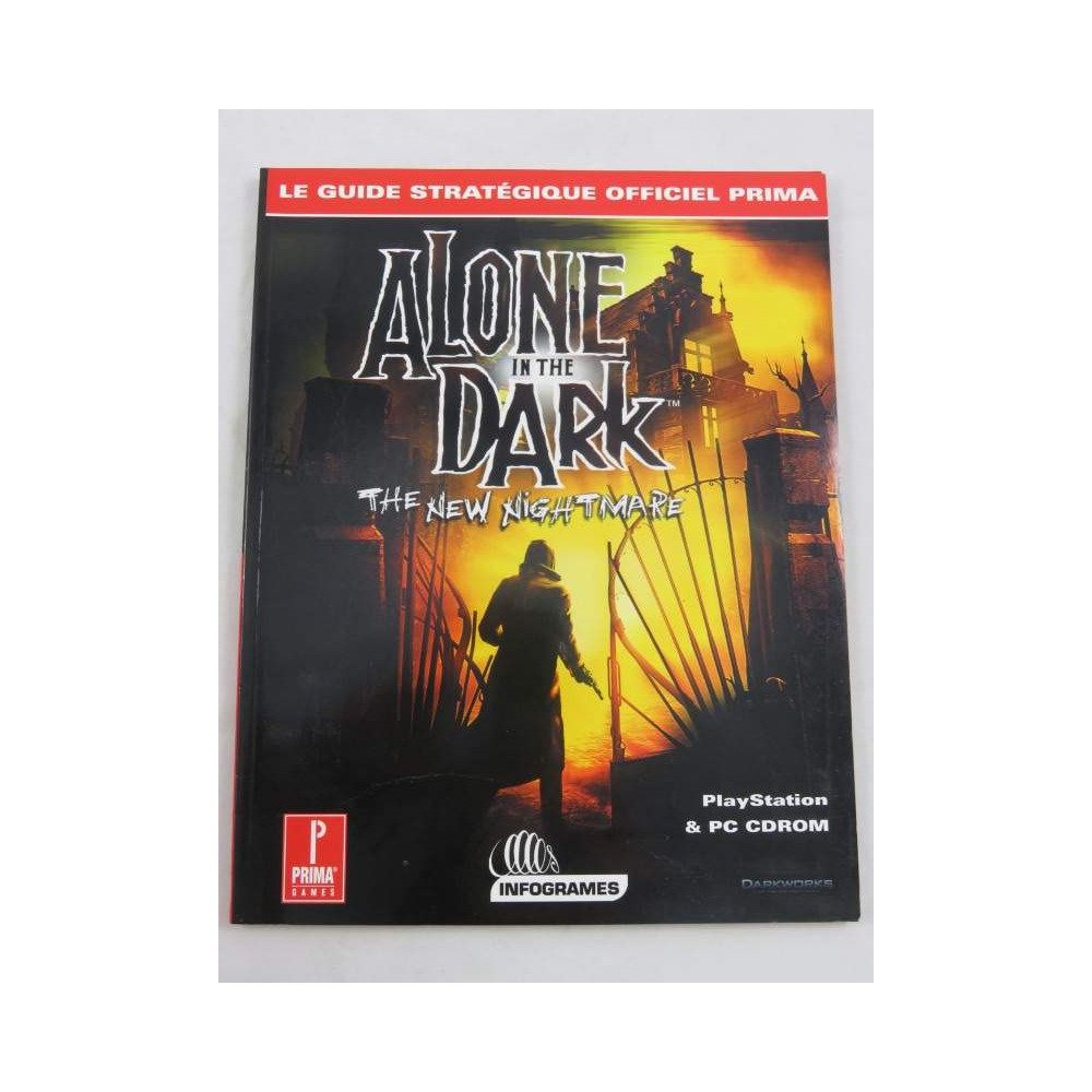 GUIDE ALONE IN THE DARK : THE NEW NIGHTMARE FR OCCASION