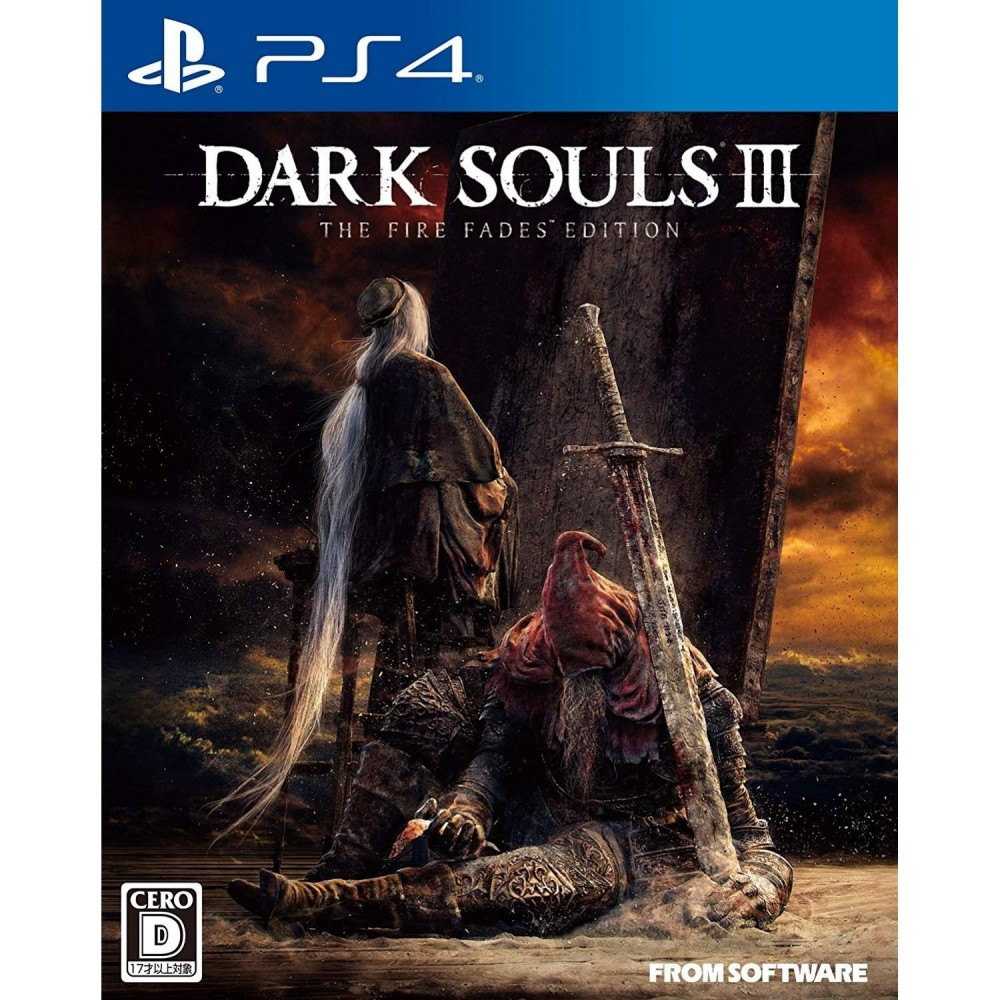 DARK SOULS III THE FIRE FADES EDITION PS4 JPN NEW