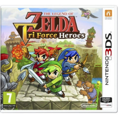ZELDA TRI FORCE HEROES 3DS UK OCCASION