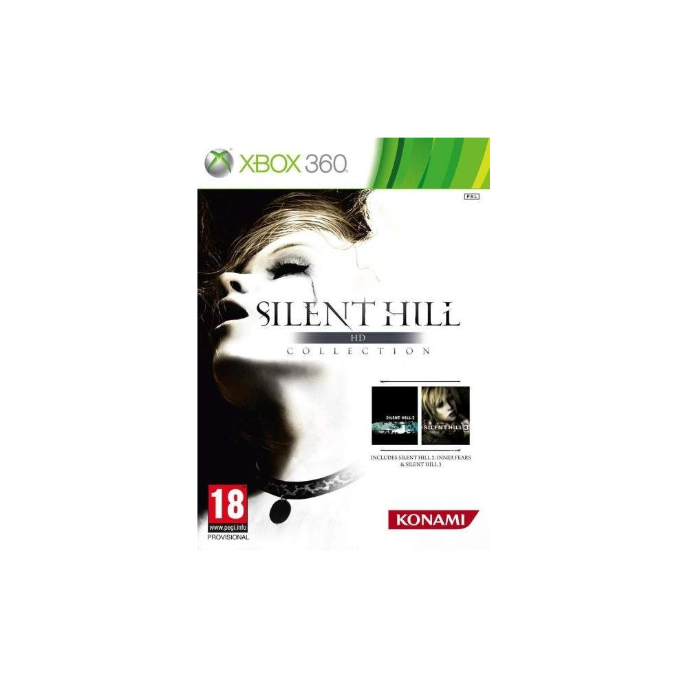SILENT HILL HD COLLECTION XBOX 360 PAL-FR OCCASION