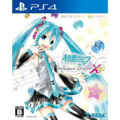 HATSUNE MIKU PROJECT DIVA X PS4 JPN OCCASION