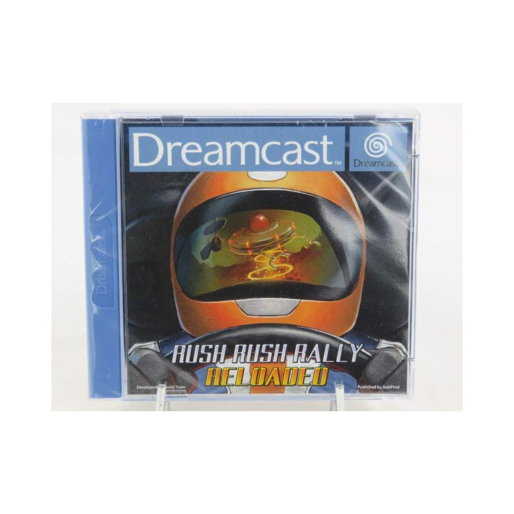 RUSH RUSH RALLY RELOADED (SENIL TEAM) DREAMCAST PAL-EURO NEW