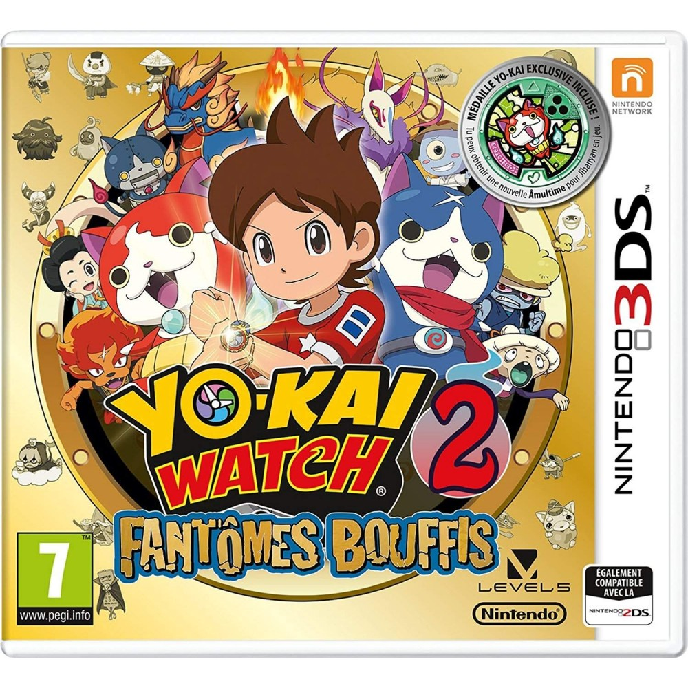 YO-KAI WATCH 2 FANTOMES BOUFFIS 3DS FR OCCASION