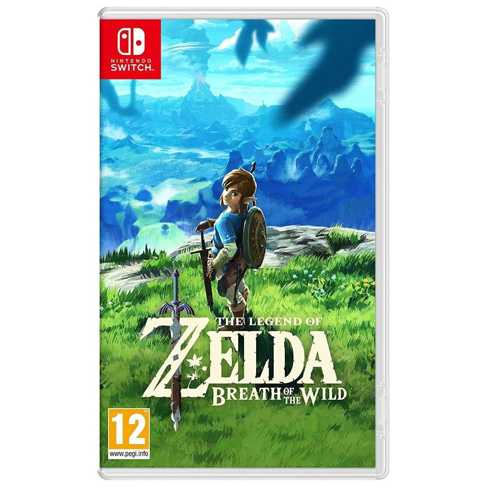 ZELDA BREATH OF THE WILD SWITCH FRANCAIS OCCASION