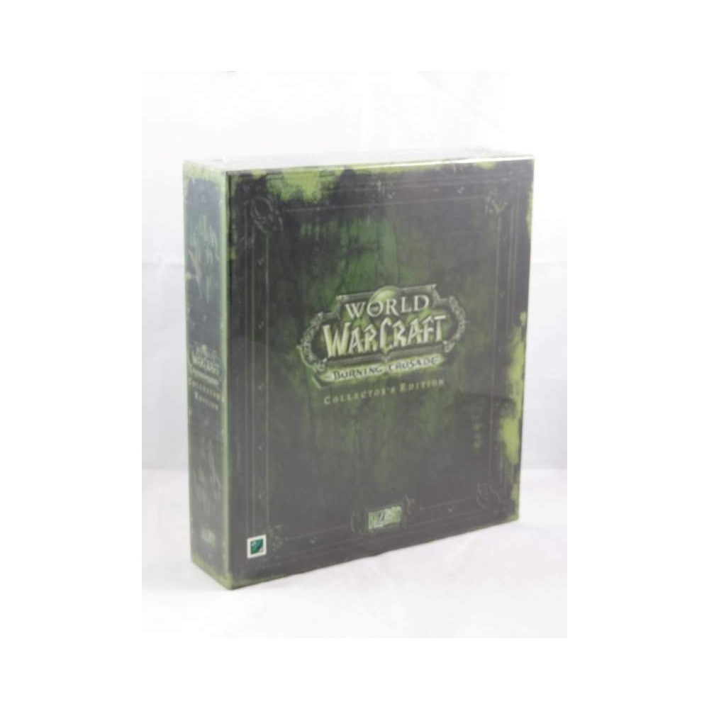WORLD OF WARCRAFT BURNING CRUSADE COLLECTOR PC ALLEMAND NEW