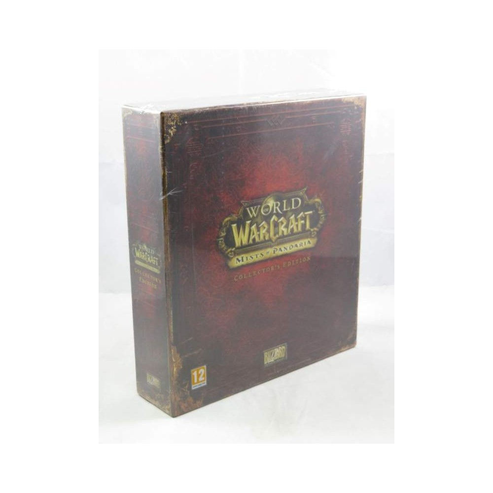 WORLD OF WARCRAFT MISTS OF PANDARIA COLLECTOR PC UK NEW