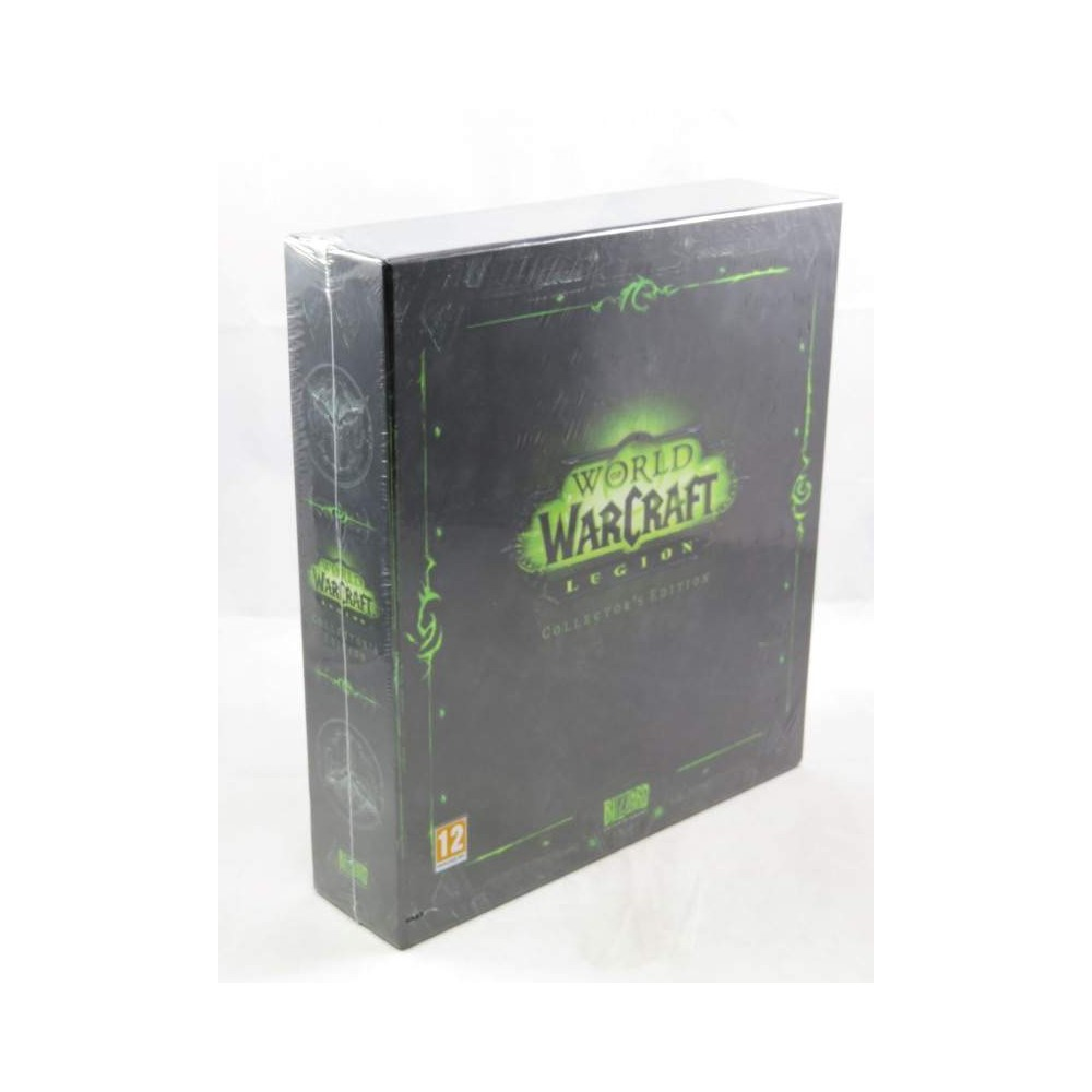 WORLD OF WARCRAFT LEGION COLLECTOR PC UK NEW