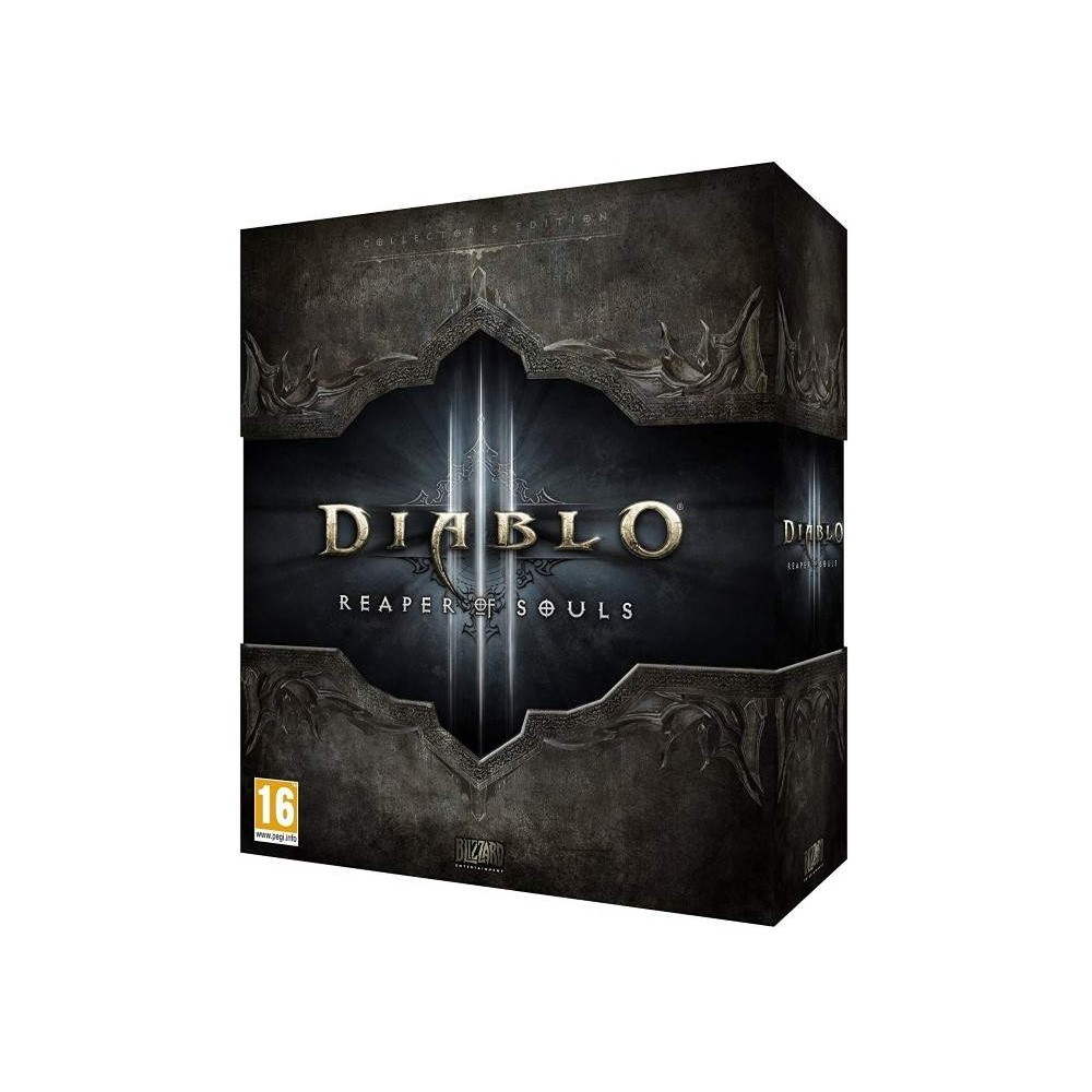 DIABLO III REAPER OF SOULS COLLECTOR PC UK NEW
