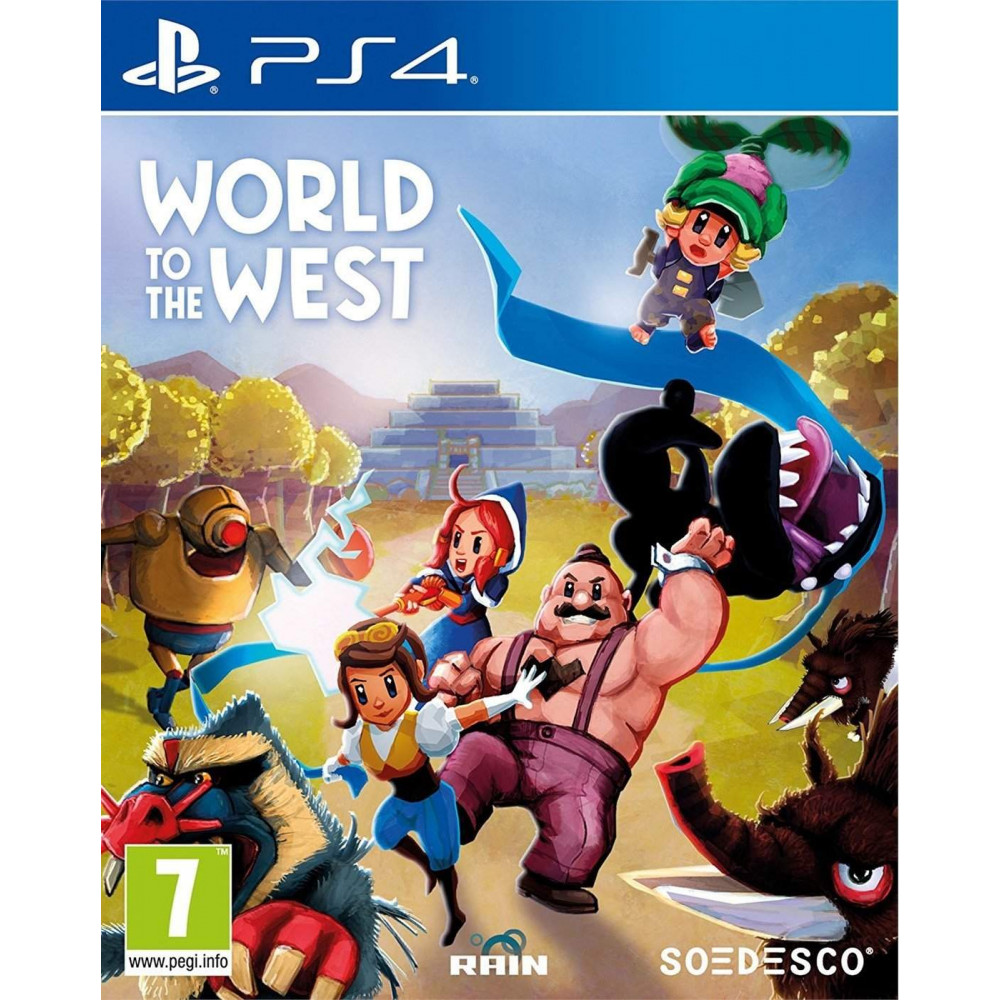 WORLD TO THE WEST PS4 EURO FR NEW