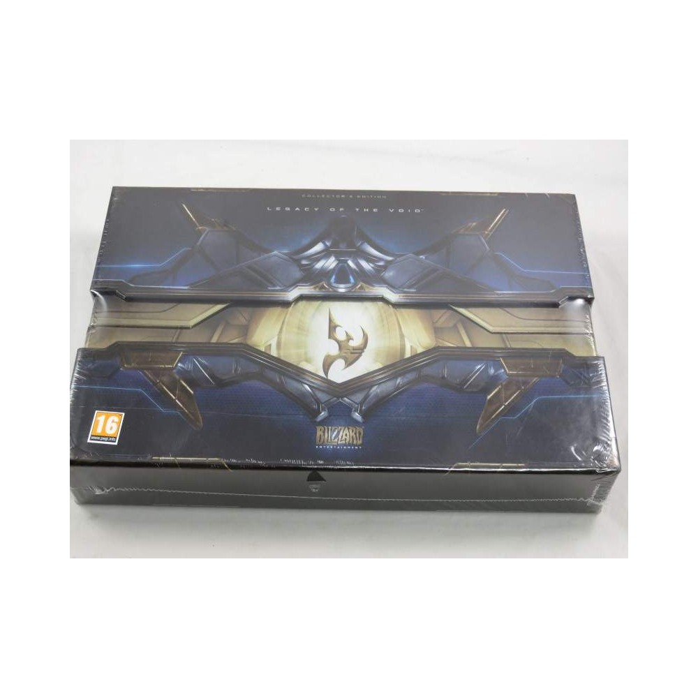 STARCRAFT II LEGACY OF THE VOID COLLECTOR PC UK NEW