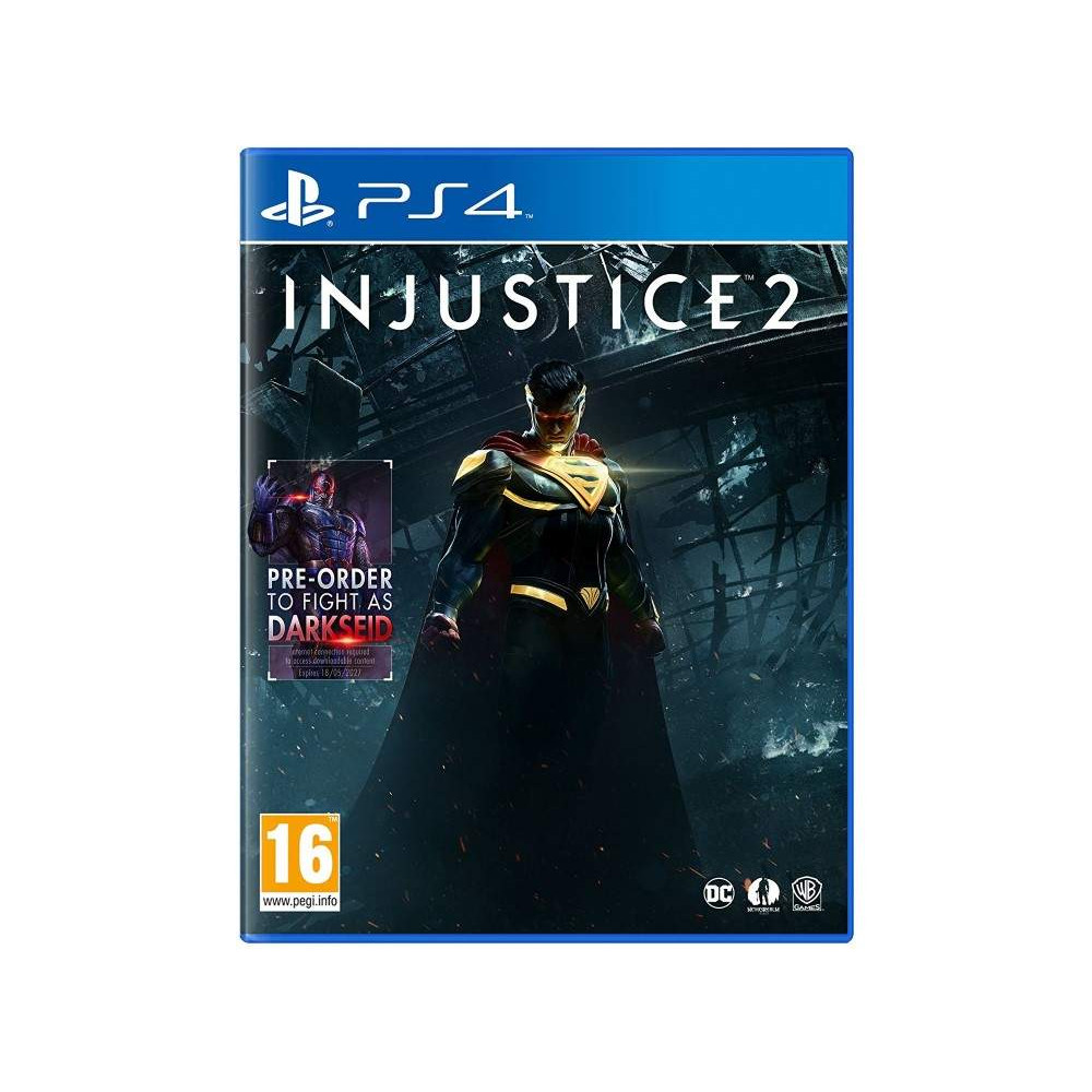 INJUSTICE 2 PS2 UK NEW