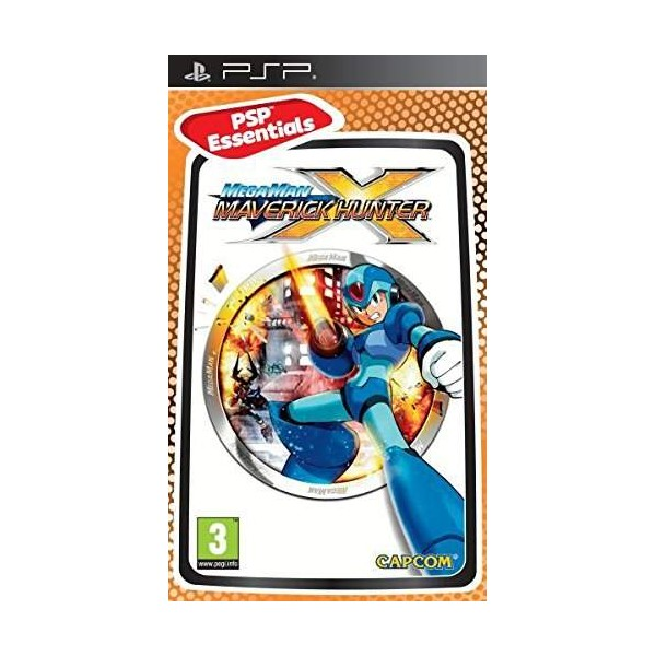 MEGA MAN MAVERICK HUNTER X (ESSENTIALS) PSP FR OCCASION