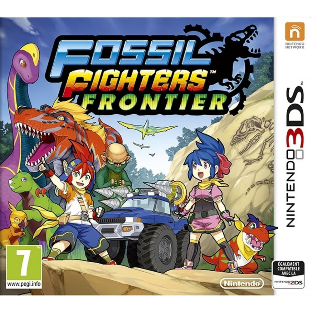 FOSSIL FIGHTERS FRONTIER 3DS VF OCC