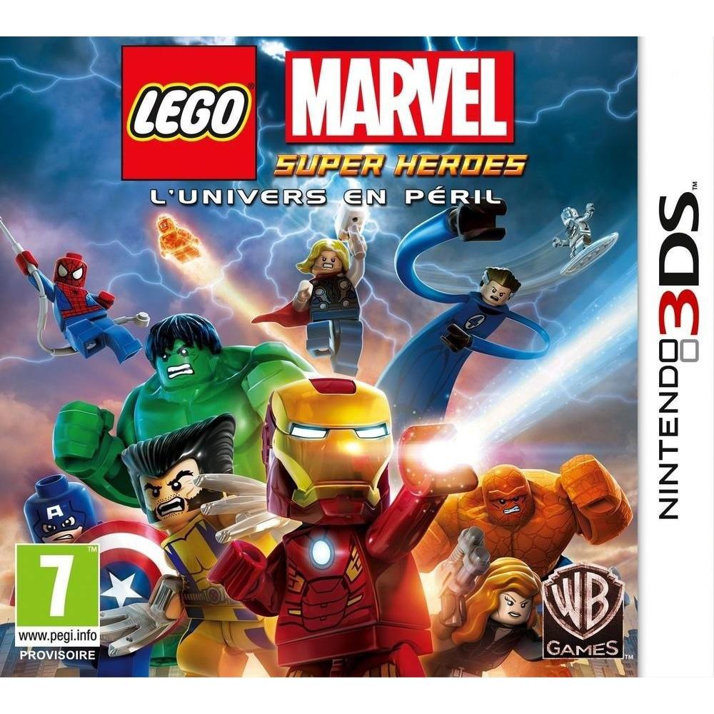 LEGO MARVEL SUPER HEROES 3DS FR OCCASION