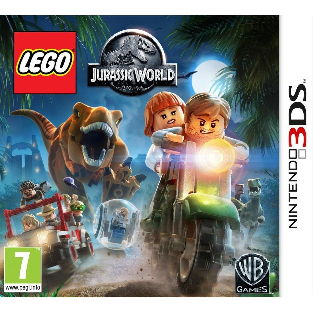 LEGO JURASSIC WORLD 3DS PAL-FR OCCASION