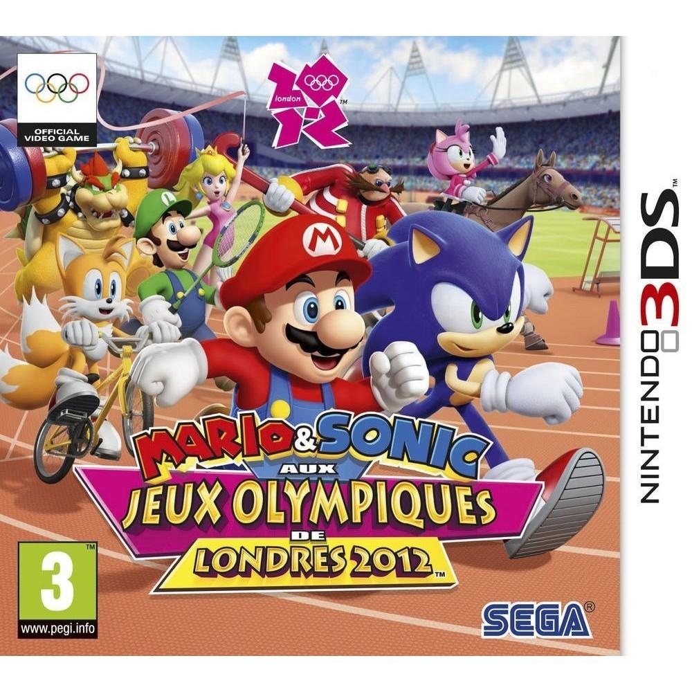 MARIO&SONIC AUX JEUX OLYMPIQUES DE LONDRES 2012 3DS VF OCC