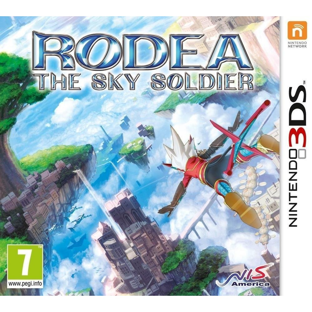RODEA THE SKY SOLDIER 3DS FR OCC