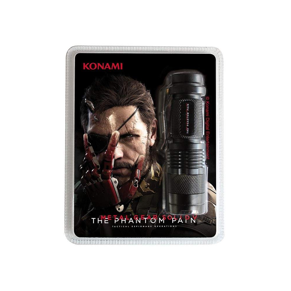 LAMPE DE POCHE METAL GEAR SOLID V NEW